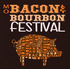 Missouri Bacon and Bourbon Festival Logo by Tom Bradley the Governor of Mid-Missouri Event Creator and Promoter